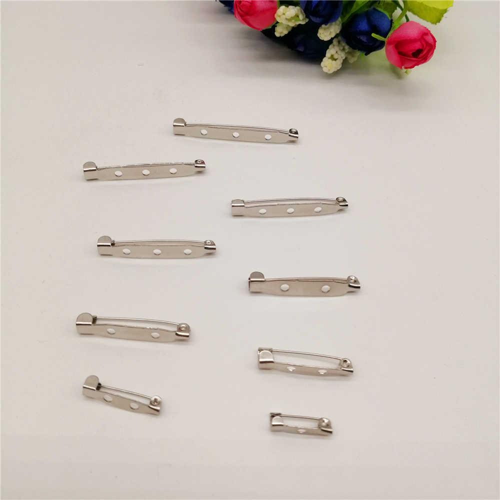 20-100 sztuk DIY ocena biżuteria broszka baza powrót Bar pokrowiec na karty mechanizm blokady broszka przypinki na akcesoria do wyrobu biżuterii dostaw