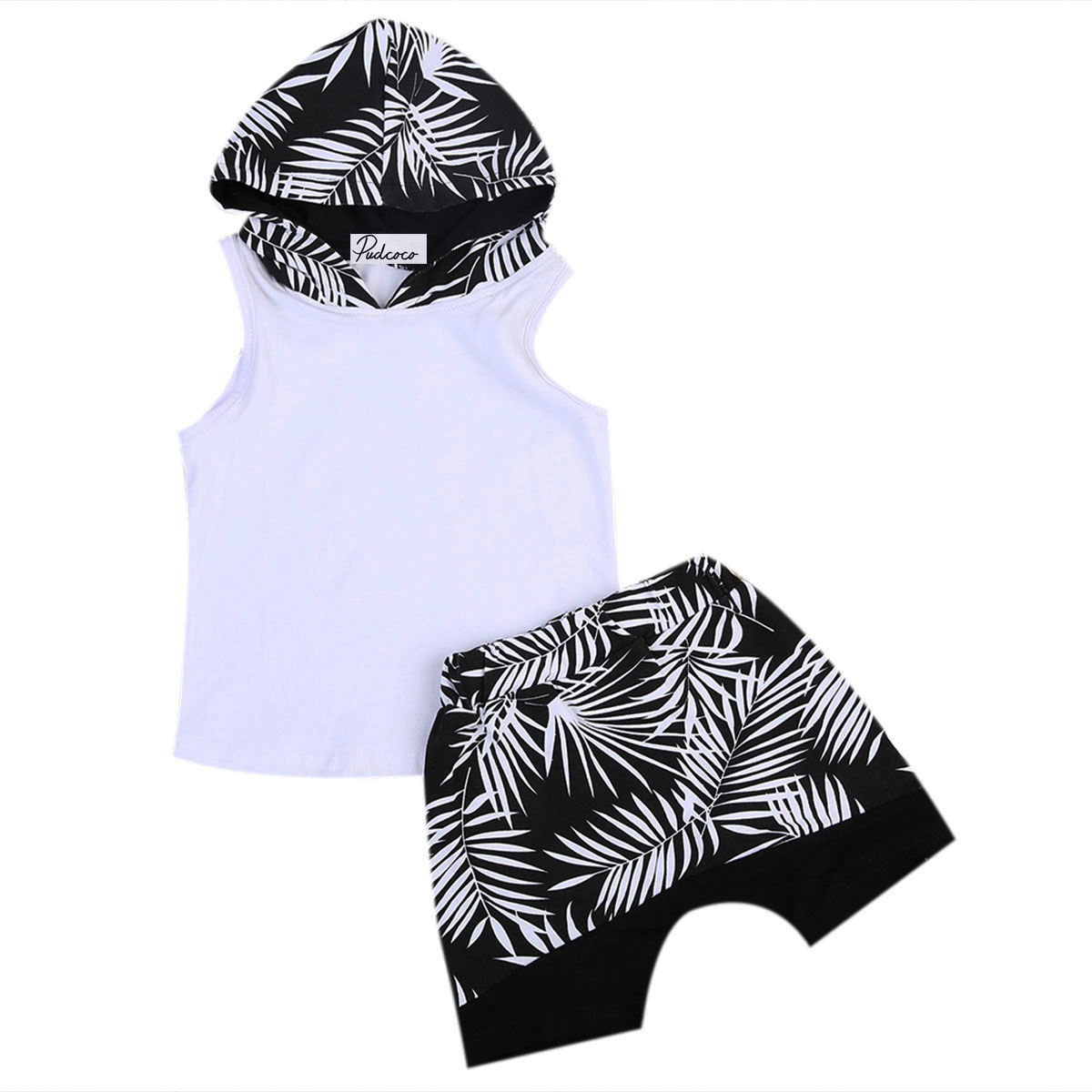 2pcs 1 6t Toddler Kids Baby Boys White Clothes Hoodie