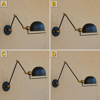 Replica Designer Industrial Style Mechanical Arm France Jielde Adjustable Long Arm Wall Lamp Reminisce Retractable Vintage