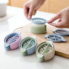 Многофункциональная кухонная овощерезка для яиц, резак, форма для цветочных краев, новинка, высокое качество, цвет в случайном порядке