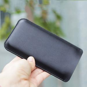 Image 5 - NOTE10 + uniwersalny futerał na telefon komórkowy prosty skórzany futerał retro prosty styl do Samsung Note 10 Plus etui NOTE10