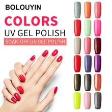 BOLUOYIN Nail Polish Gel Paint Art Design UV/LED Lacquer Free Shipping Light Color Semi Permanent Comestic