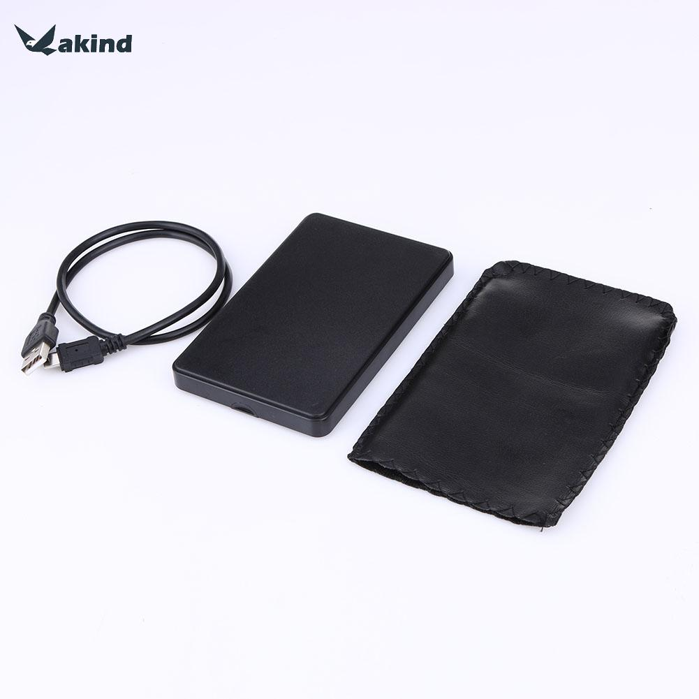 HDD Case ABS Plastic Slim Portable 2.5 HDD Enclosure USB 2.0 External Hard Disk Case SATA Hard Disk Drives HDD Enclosure Case external laptop hdd case usb wifi disk router sata hard disk reader case 2 5 inch hdd caddy usb 3 0 plastic hard drive enclosure