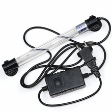 7 Вт/11 Вт Водонепроницаемый УФ стерилизатор погружной, 110 В 220 В освещение для очистки воды, ультрафиолетовая лампа для аквариума