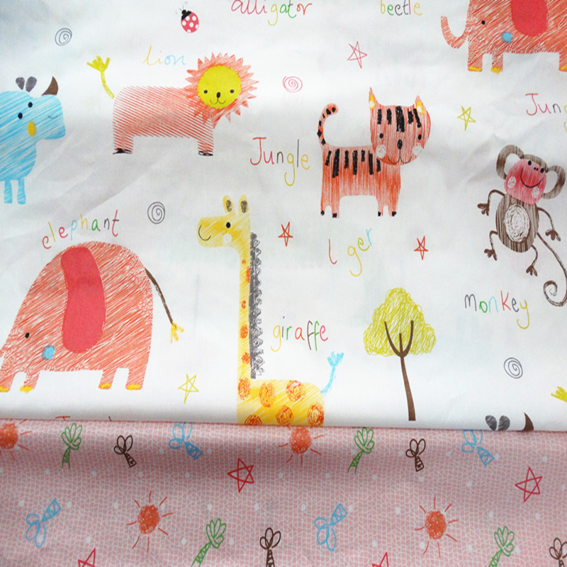 Online get cheap nursery fabric alibaba for Cheap baby fabric
