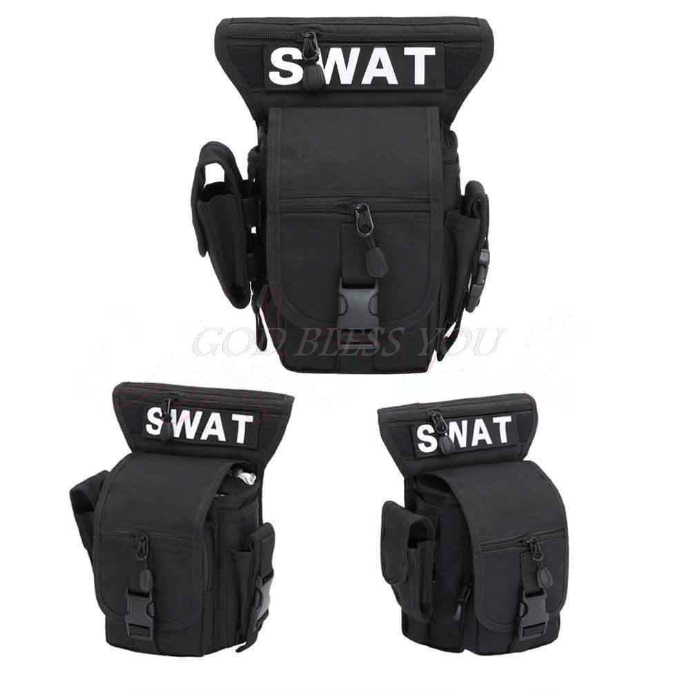 Multi-Purpose Vest Waist Pouch Bag Outdoor Travel Leg Utility Bag Waist Pack Equipment For Outdoor Sport Hunting Activities SWAT