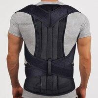 Adjustable Back Posture Corrector Spine Support Brace Back Shoulder Support Belt Posture Correction Belt Corrective Men Women