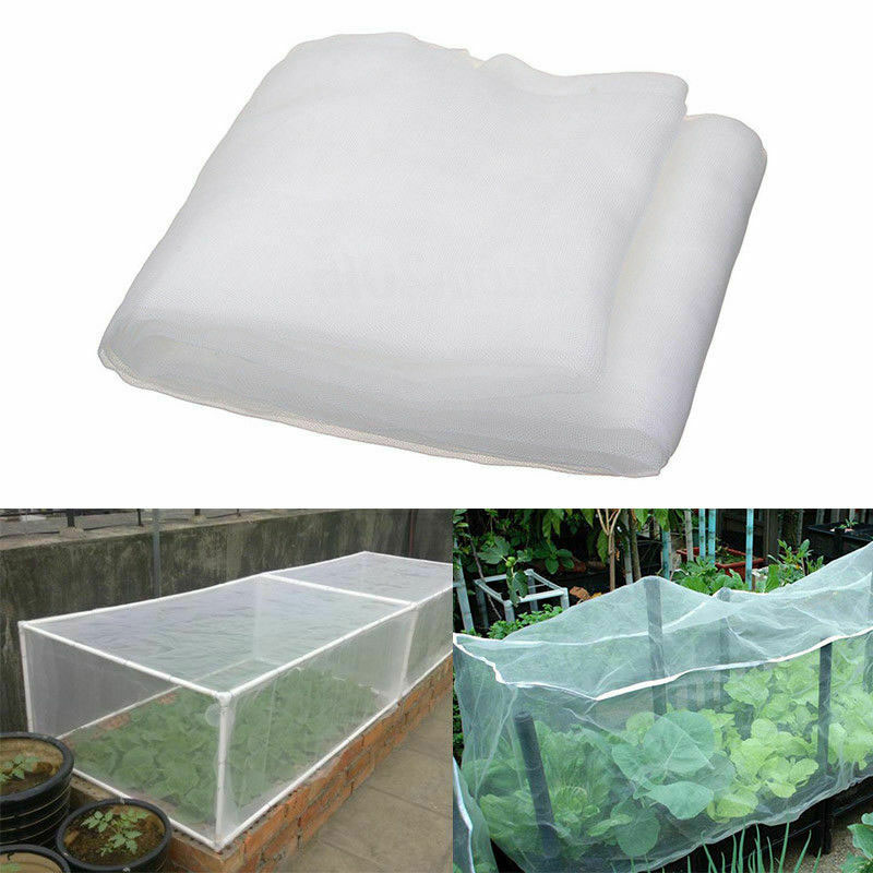 1pcs Vegetable Netting Mesh Insect Mosquito Anti Bird Net Greenhouse Garden Crop Vegetable Protection Fine Mesh Cloth
