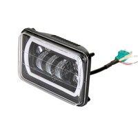 Free Shipping 6pcs 80W Led Light Bar Day Maker Driving Headlamp For 4x4 Vehicles Car Automotive
