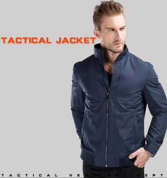 Self Defense Tactical Gear Anti Cut Knife Cut Resistant Jacket Anti Stab Proof Long Sleeved Military Security Clothing self defense anti cutting stab fashion casual jacket fbi military tactical invisible soft safety politie kleding tactico policia