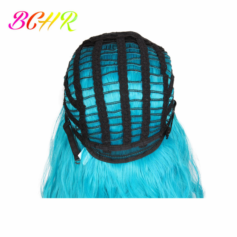 BCHR Ombre Κομψή ώμου-μήκους ουρανού μπλε - Συνθετικά μαλλιά - Φωτογραφία 5