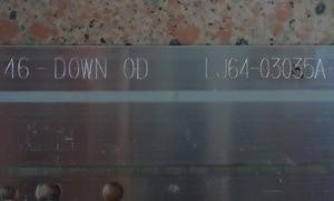 Image 3 - 2 pezzi/lotto PER TCL L46E5200 3D Articolo lampada LJ64 03035A schermo LTA460HQ12 1 pezzo = 72LED 520 MILLIMETRI 100% NUOVO