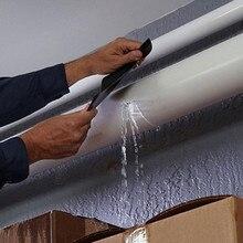 Супер сильный Водонепроницаемый Универсальный заполнить утечки ремонт трубы, лента Производительность себя волокна исправить высокой температуры клей-герметик