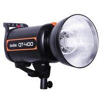 Original Godox QT 400 QT400 400W High Speed Flash Duration 1/5000s Studio Strobe Light 110V or 220V