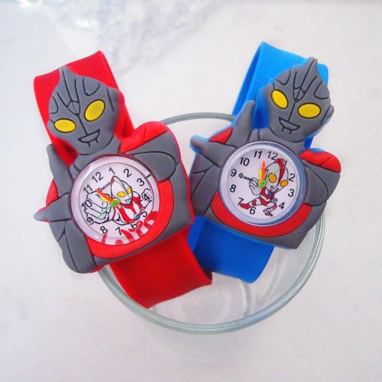 Manufacturers Wholesale Kids Watches 5 Styles Super Hero Spiderman Altman Children Watch For Boys Baby Toys Gift Batman Clock