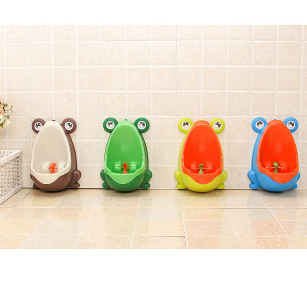 Pinico Kids Urinal for Boys Baby Potty Penguin/Frog Childrens Toilet Training Urinal-boy ...