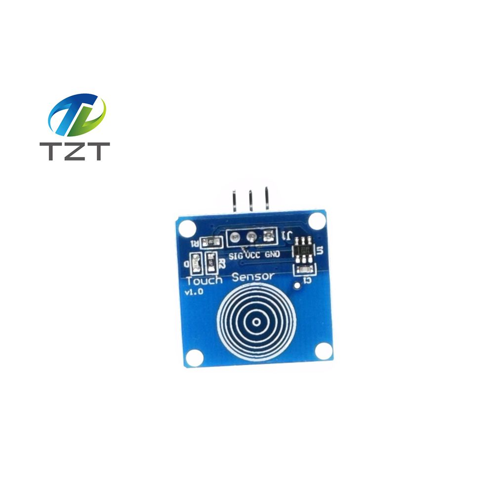 Liliers 1pcs Ttp223b Digital Touch Sensor Capacitive Touch Switch Module Diy For Arduino Capacitive Sensors