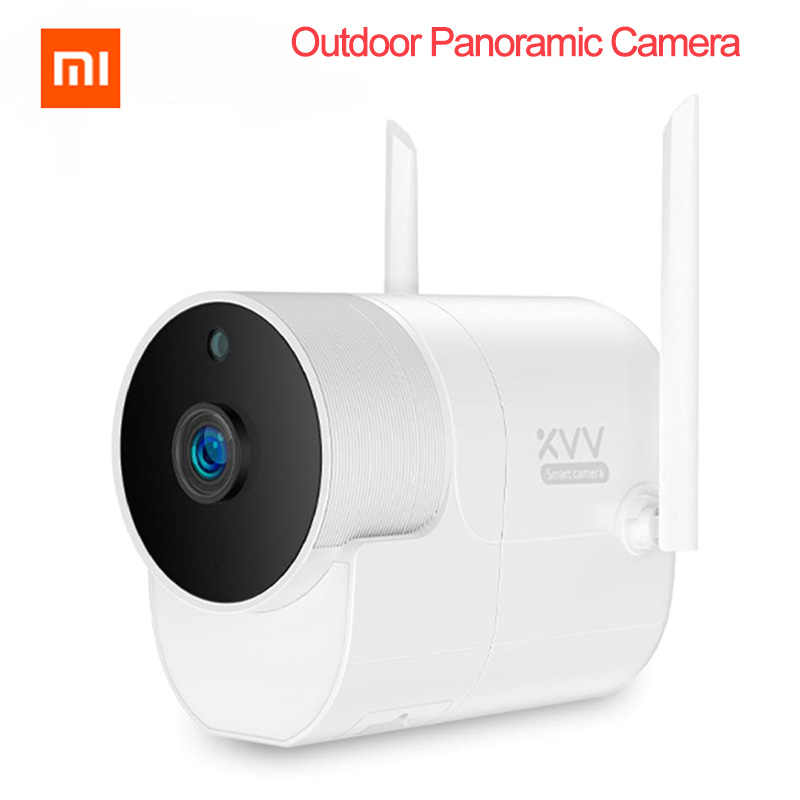 Xiaomi Outdoor Camera Panoramische Camera Surveillance Camera 360 1080P Draadloze Wifi High-Definition Nachtzicht Mijia App