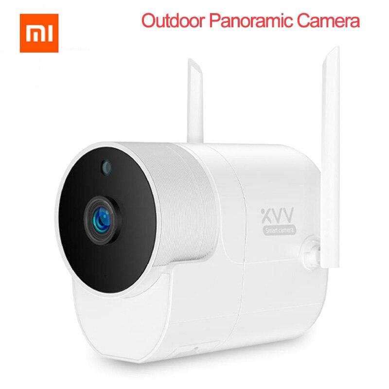 Xiaomi XVV caméra extérieure caméra panoramique caméra de Surveillance 360 1080P sans fil WIFI haute définition vision nocturne Mijia APP