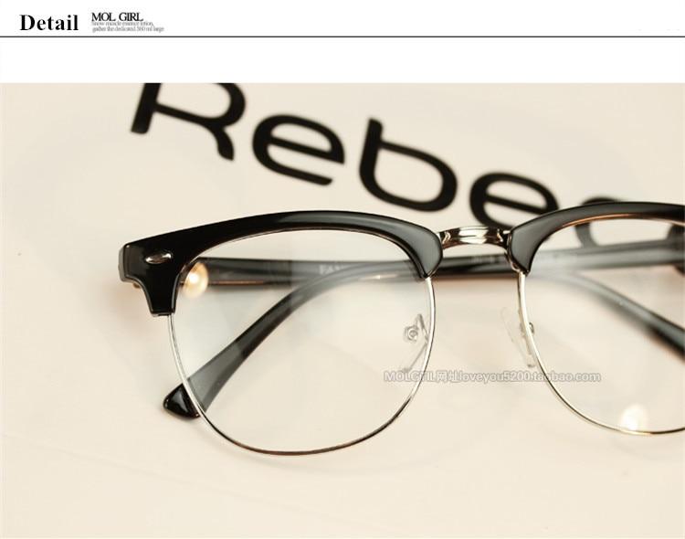 Brand Design Eyewear Frames Eyeglasses eye glasses frames for Men Male Women Eyeglasses UV Sports Computer Plain spectacle frame (35)