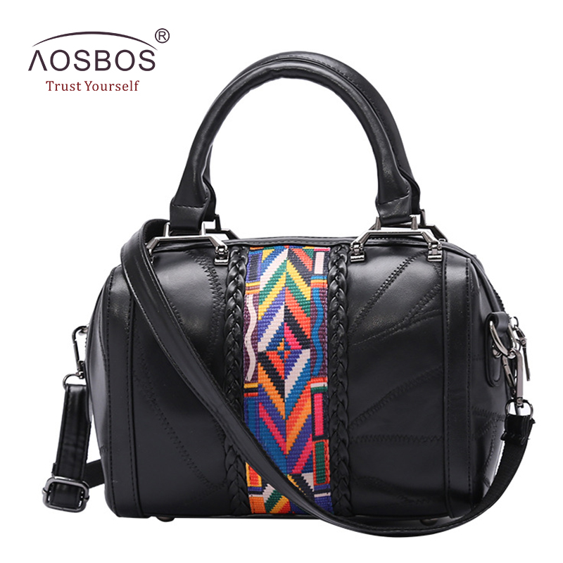 New Women Genuine Leather Handbags Brand Designer Black Shoulder Bags with Colorful Stripes Casual Zipper Solid Messenger Bag genuine leather patckwork bags women casual messenger bag women s lady colorful zipper shoulder designer handbags high quality
