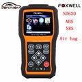 Foxwell NT630 Pro Автомобиля Диагностический Инструмент Двигателя ABS Подушки Безопасности SRS Сброс Данных Краш Инструмент Антиблокировочная Система Автомобильной сканер