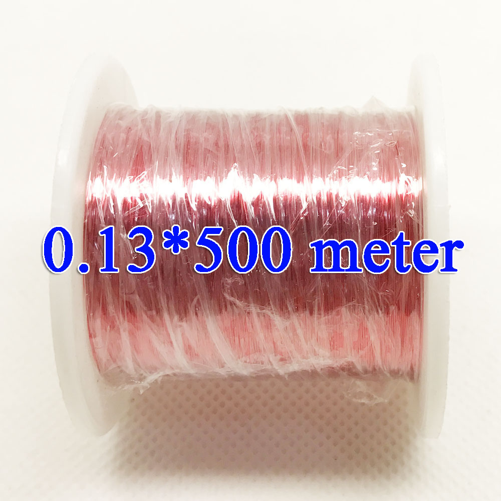 0.13 mm 1000m/ pc,500m/ pc QA-1-155 New Polyurethane Enameled Wire,Copper wire , Red купить в Москве 2019
