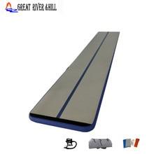 Купить с кэшбэком high quality 6mx1mx0.1m inflatable air track gymnastics mat cheap