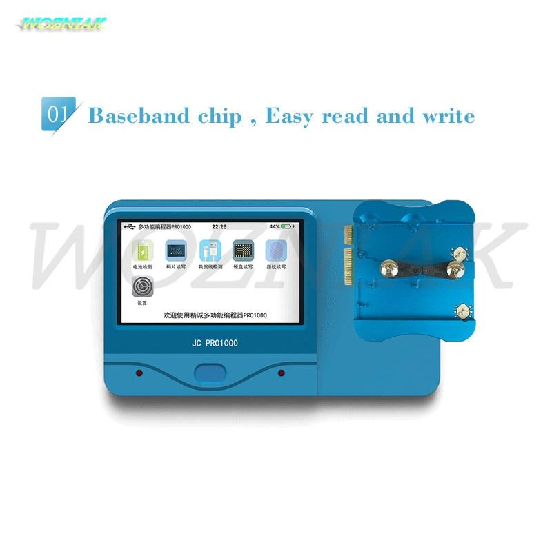 Logický baseband Wozniak Pro1000S NAND CHIP Programátor Detekce - Sady nástrojů - Fotografie 3