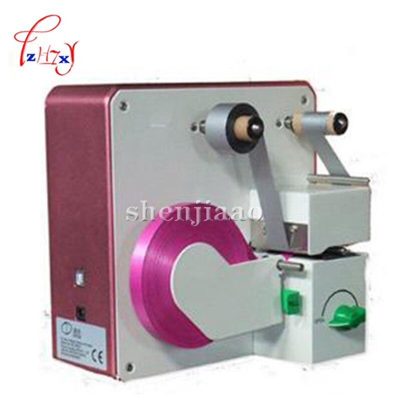 1pc DC PD32 digital mini ribbon printer,digital satin ribbon printing machine hot stamping foil printer