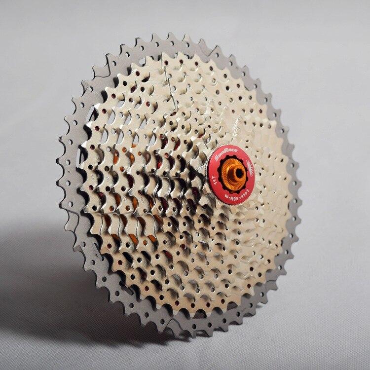 SunRace 11 vitesse 11 s 46 T 50 T Cassete vtt VTT roue libre 11-46 T 11-50 T CSMS8 CSMX8 CSMX80 volant vélo Ultra léger