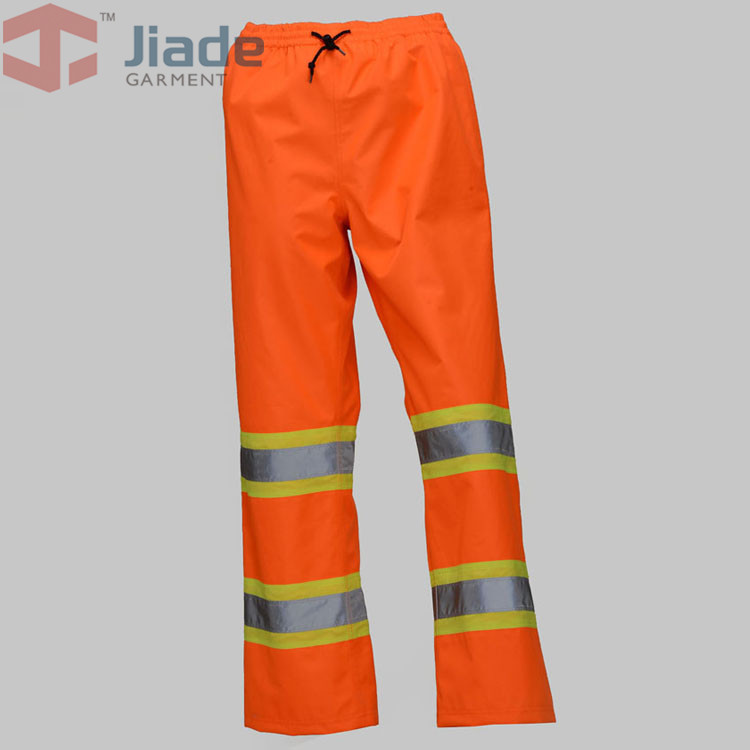 Jiade Adult High Visibility Pant Long Pant  Men's Work Reflective Pant  waterproof long pant