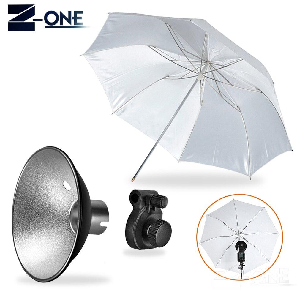 Godox AD S6 Umbrella style Flash Diffuser Reflector +Folded Diffuser for Witstro Flash AD180 AD360 II Photography Accessories