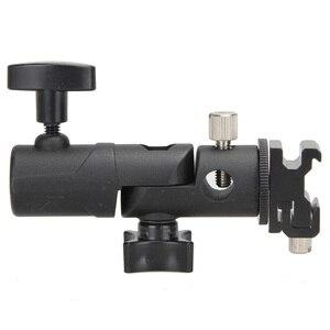 Image 3 - Photo Accessories Camera Swivel Flash Bracket Shoe Umbrella Holder Studio Swivel Light Stand Adapter for Umbrella Bracket E Type