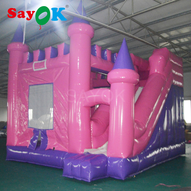 Inflatable Bouncer Slide giant Inflatable Castle for Yard Garden Commercial UseInflatable Bouncer Slide giant Inflatable Castle for Yard Garden Commercial Use