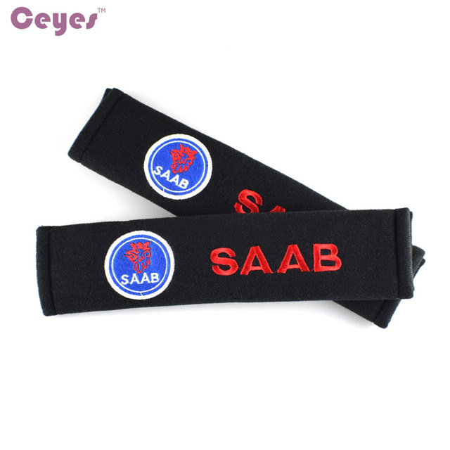 Auto-Styling Auto Sticker Emblemen Badge Alle Katoen Case Voor Saab Logo 9-5 9-7 PhoeniX 9-2X 9-3 03-10 Accessoires Auto Styling