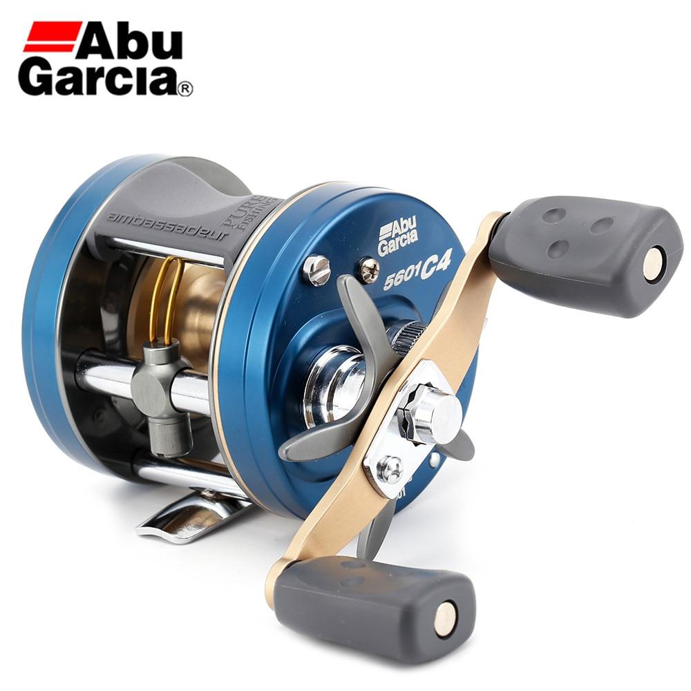 100% Original Abu Garcia 14 AMBASSADEUR C4 5600 5601 Right Left Hand Baitcasting Fishing Reel 6.3:1 5BB 285g Drum Fish Gear incesttoon
