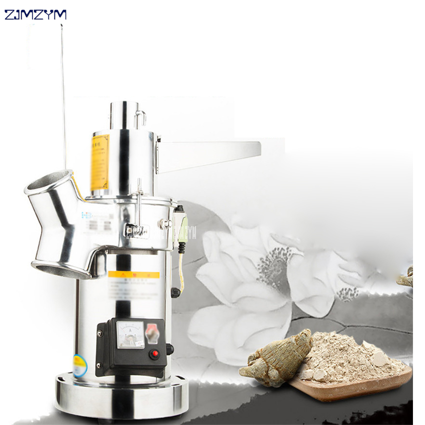 New Electric Soybean Grain Rice flour Mill Water mill household Chinese medicine powder grinding machine 110V/220V household electric rice mill fresh rice machine automatic husker rice milling machine small rice mill 160w 220v 1pc