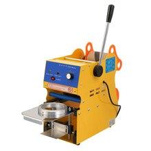 350 W Comercial Manual de Sellado Taza Máquina De Bebidas de Leche de Café 300-500 Tazas/hora Boba Té Café taza de Sellador