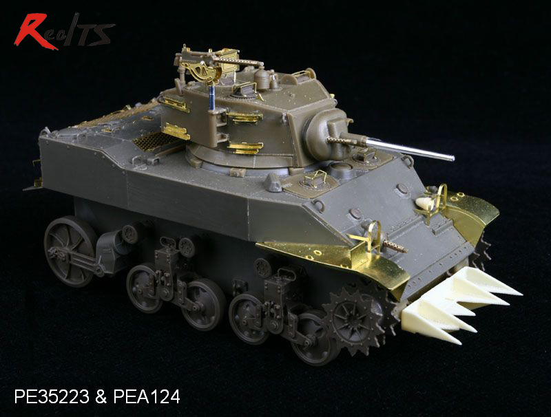 RealTS Voyager 1:35 WWII US Army M3/M5/M8 Grousers (For All) #PEA124