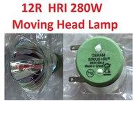 Alta Qualidade 12R E20 HRI280 Lâmpada de Iodetos Metálicos 280W Movendo A Cabeça Luzes Feixe De Metal Lâmpada de Halogéneo Lâmpadas Do Projetor MSD platina