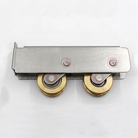 Free Shipping Furniture Caster Positioning Pulley Sheave Nylon Pulley Closet Drawer Filing Cabinets Pulley Sliding Door