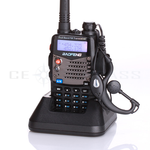 New Baofeng UV-5RA Per La Polizia WalkieTalkie Scanner Radio Dual Band Cb Radioamatore Ricetrasmettitore UHF 400-470 MHz & VHF 136-174 MHz