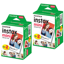 2 Packs 40 Vellen Fuji Fujifilm Instax Mini Film Blanc Voor Mini Liplay 11 9 8 7S 70 90 25 Link Printer Instant Camera Printer