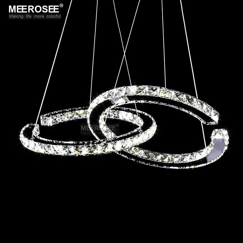 HTB1ddWAeFooBKNjSZPhq6A2CXXaJ MEEROSEE Crystal Lighting Modern LED Diamond Pendant Light Fitting LED Crystal Fixture Lustres Hanging Drop abajur Lamp For Dini