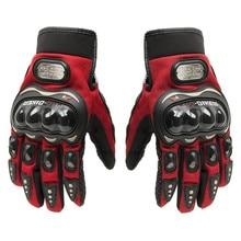 Горячая распродажа! Летние Зимние полный палец moto rcycle мужские мотоциклетные перчатки luvas крест кожа rbike guantes гонки Прихватки для мангала
