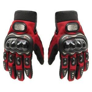 Hot Sale!! Summer Winter Full Finger motorcycle gloves gants moto luvas motocross leather motorbike guantes moto racing gloves(China)