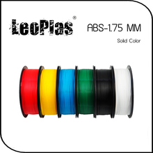 Worldwide Fast Delivery Direct Manufacturer 3D Printer Material 1kg 2.2lb Solid Color 1.75mm ABS Filament