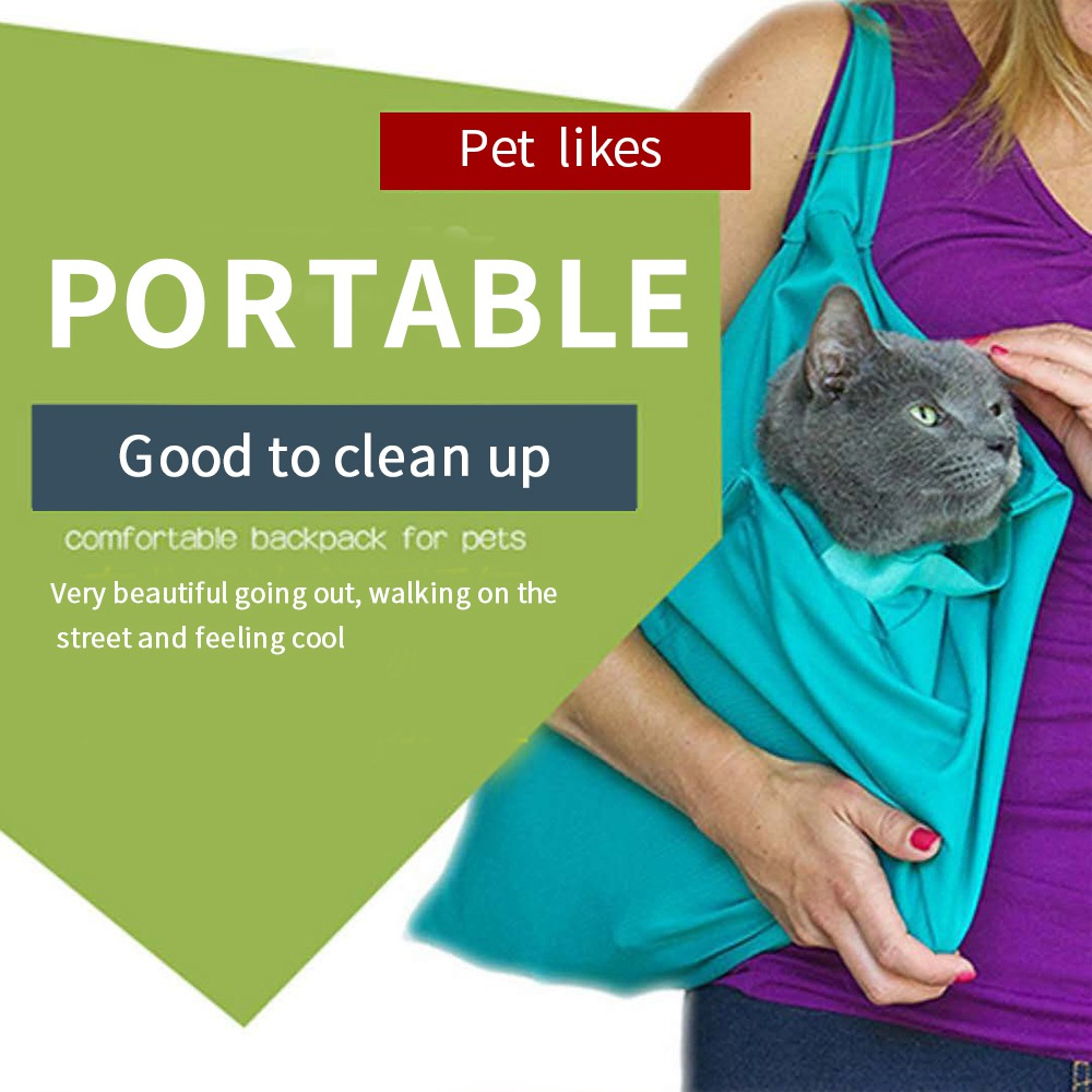Pet Bag Outdoor Cat Bags Dog Backpack Out Portable Foldable Carrier Bags Breathable Portable Comfort Easy