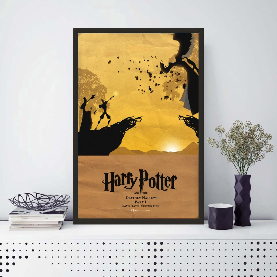 Harry Potter Minimalist Poster Film Picture Movie Paintings Wall ...